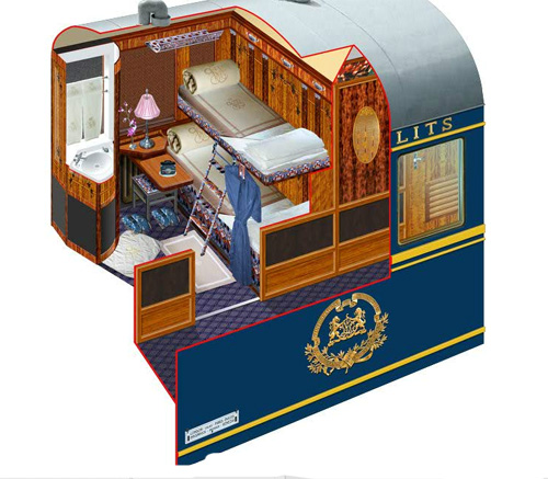 The Venice Simplon Orient Express Luxury Trains In The World