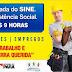Inauguração do Balcão de Empregos do Sine, no próximo sábado
