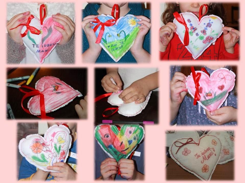 inima de colorat