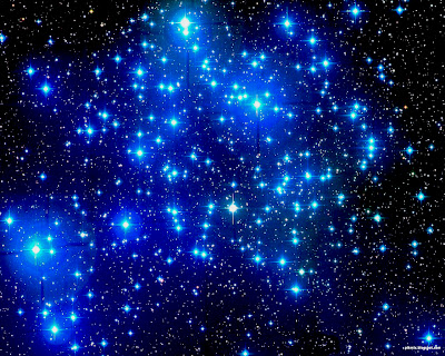 Wallapper cielo con estrellas