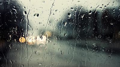 Rain Drops on Window HD Desktop Wallpaper
