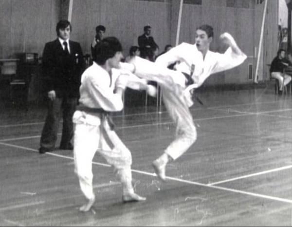 Van Damme Campeón de Karate en 1979