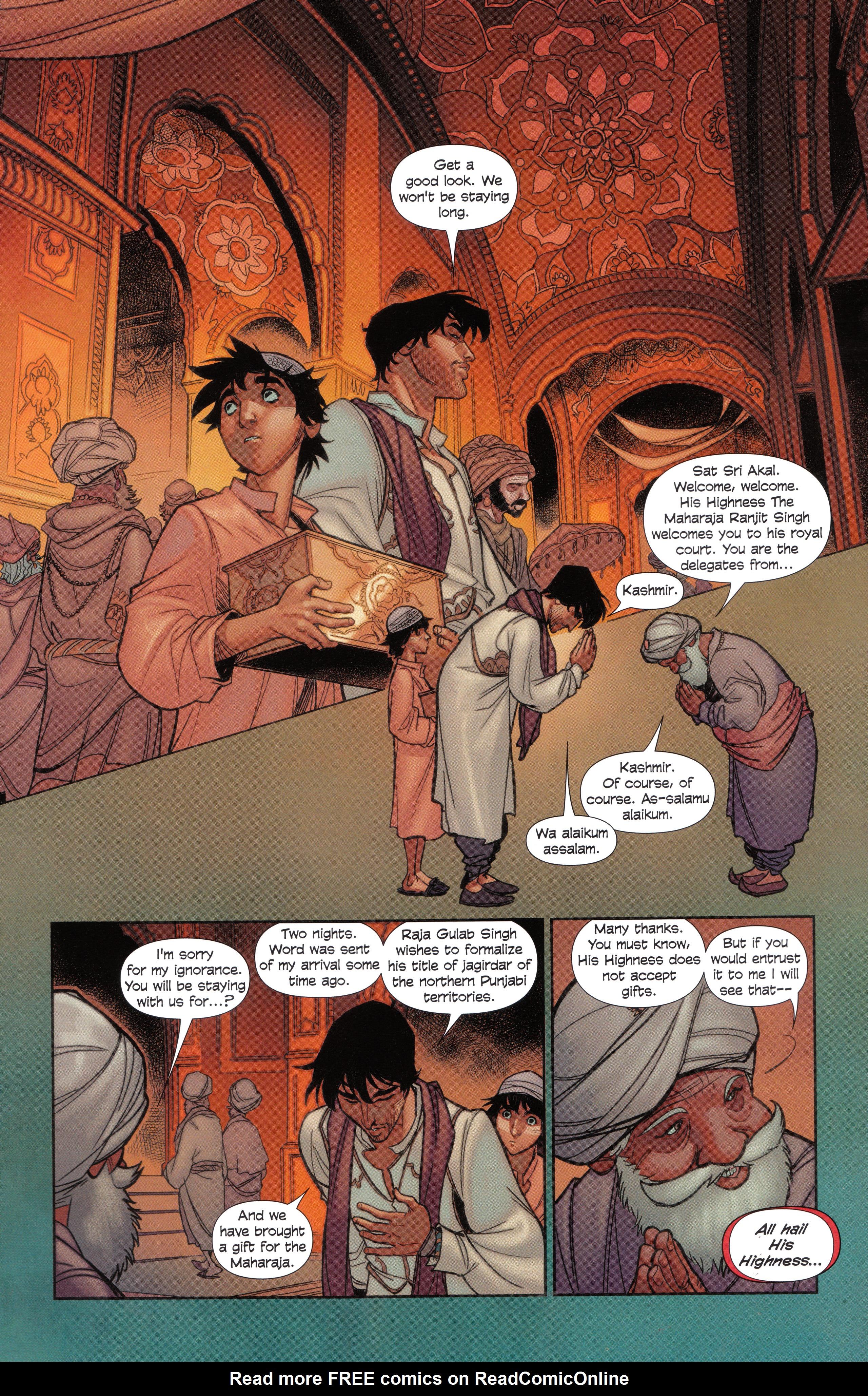 Read online Assassin's Creed Brahman comic -  Issue #Assassin's Creed Brahman Full - 41