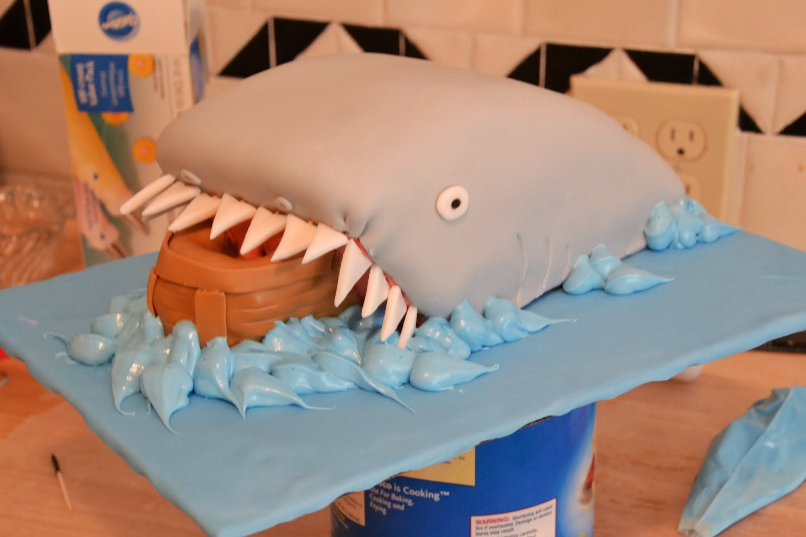 Much Ado About Somethin Shark Cake