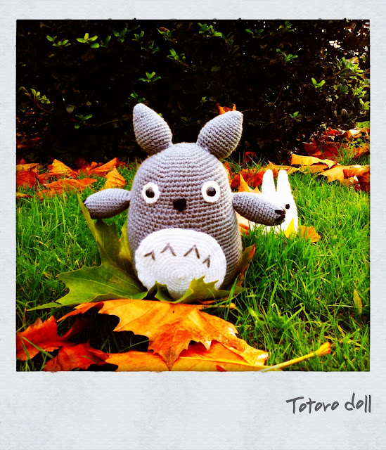 Totoro amigurumi doll