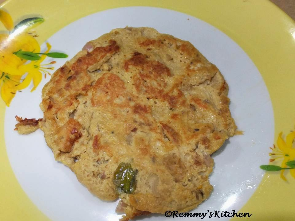 Chicken omelette for toddlers