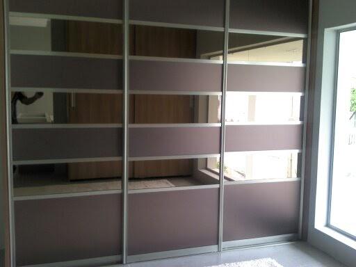 Dimens o componentes portas em perfil de aluminio com - Perfiles de aluminio para armarios ...
