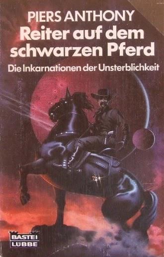 Schwachsinniges deutsches Cover der Taschenbuchausgabe