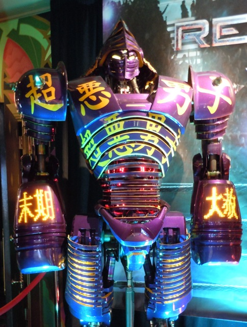 Noisy Boy Real Steel robot