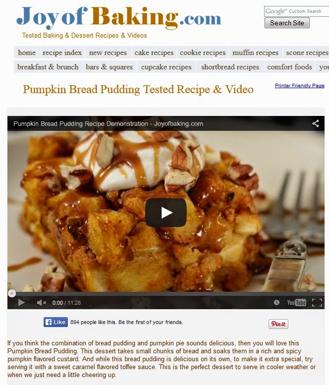 http://www.joyofbaking.com/PumpkinBreadPudding.html