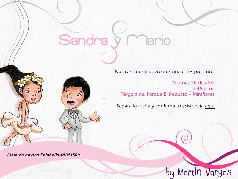 Autordesign invitaci n de boda - Modelos de tarjetas de boda ...