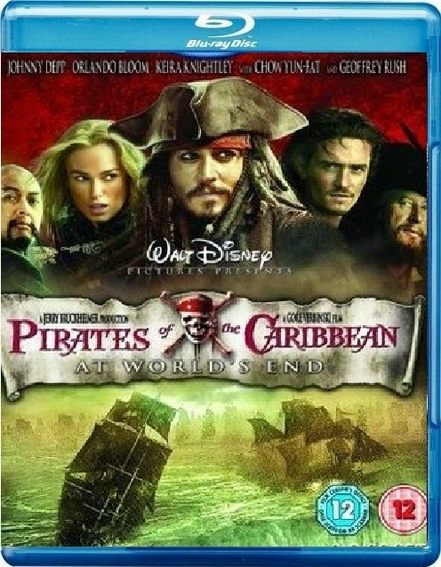 Pirates of the Caribbean At World's End 2007 Hindi Dubbed Dual BRRip 400mb
