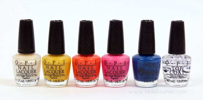 OPI, Nail Polish, OPI Neon Revolution Nail Set, Neon nails, Nail Color, neon fashion, Neon trend, Neon, Pink, Yellow, Blue, Orange, Beauty, Makeup, Beauty Blog, Red Alice rao, nailart, nailart addict, creative nails