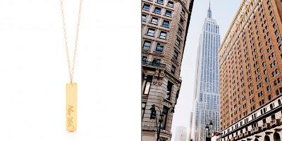 City Love - NYC - Gorjana necklace