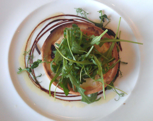 Goats Cheese and Red Onion Tart - The Grey Lady - Gingeybites.com