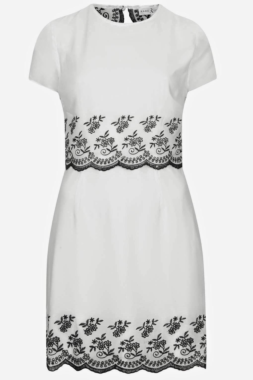 rare white dress
