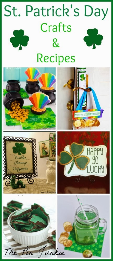 St. Patrick's Day Crafts and Recipes
