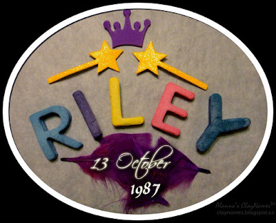 Riley October 13 1987