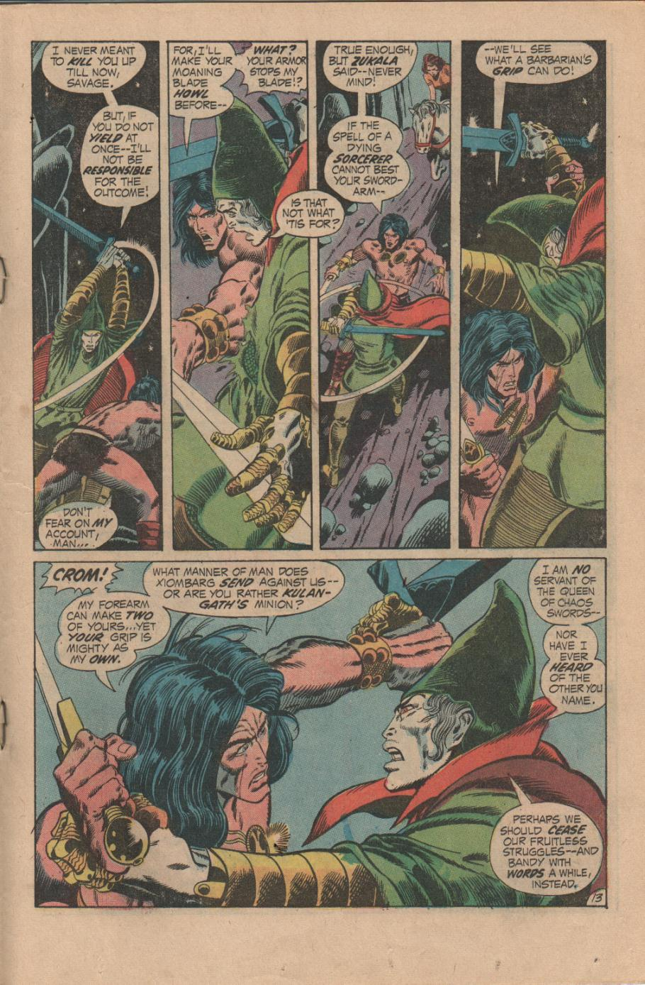 Conan the Barbarian (1970) Issue #14 #26 - English 14