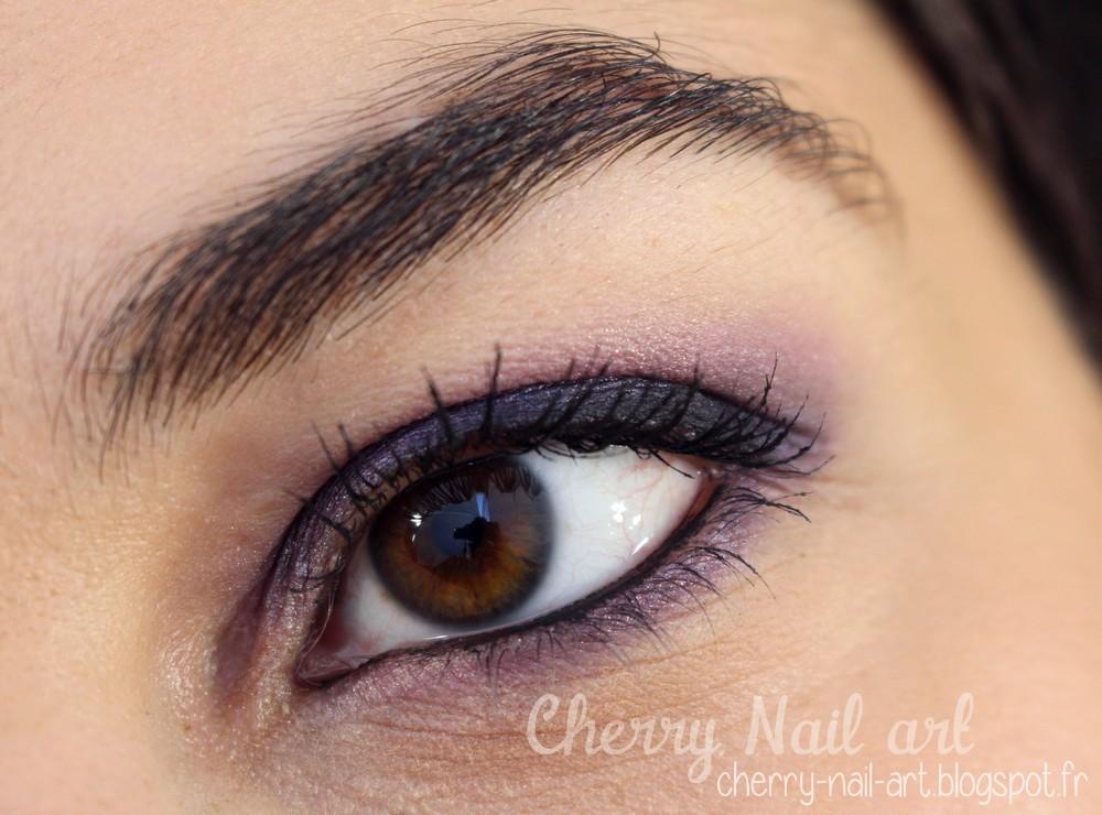 Cherry nail art blog mode beaut maquillage petit - Smoky eyes tuto ...