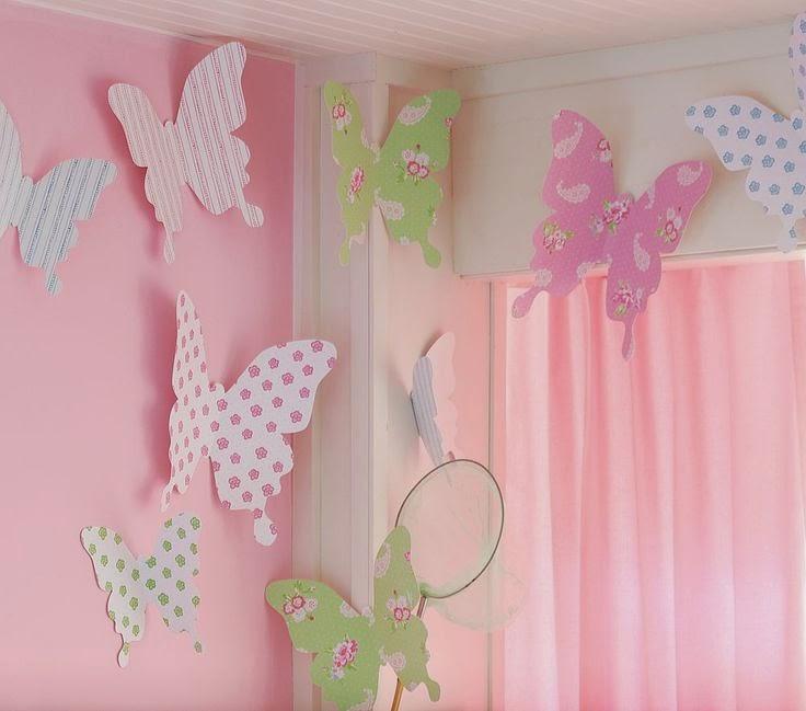 Украсить комнату для девочек своими руками
