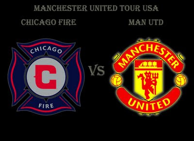 Man Utd Tour USA Chicago Fire vs Manchester United