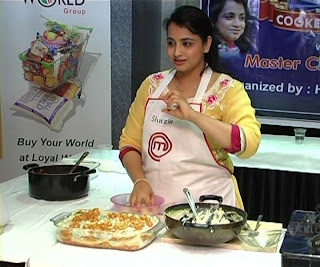 Shazia Khan Fusion Cookery Workshop