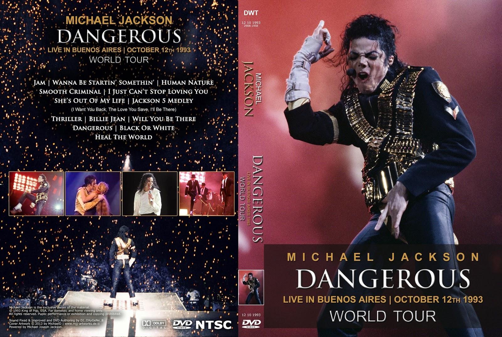 Bad Tour Michael Jackson Dvd