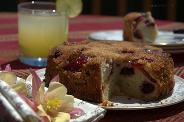 Plum n Cherry  Kuchen