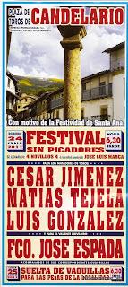 Festival taurino en Candelario Salamanca