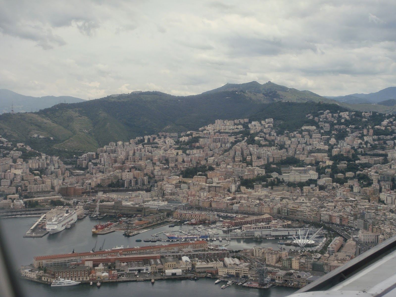 Genova - Italian city between coast and mountains