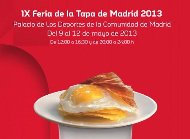 Tapas Palacio de los Deportes de Madrid