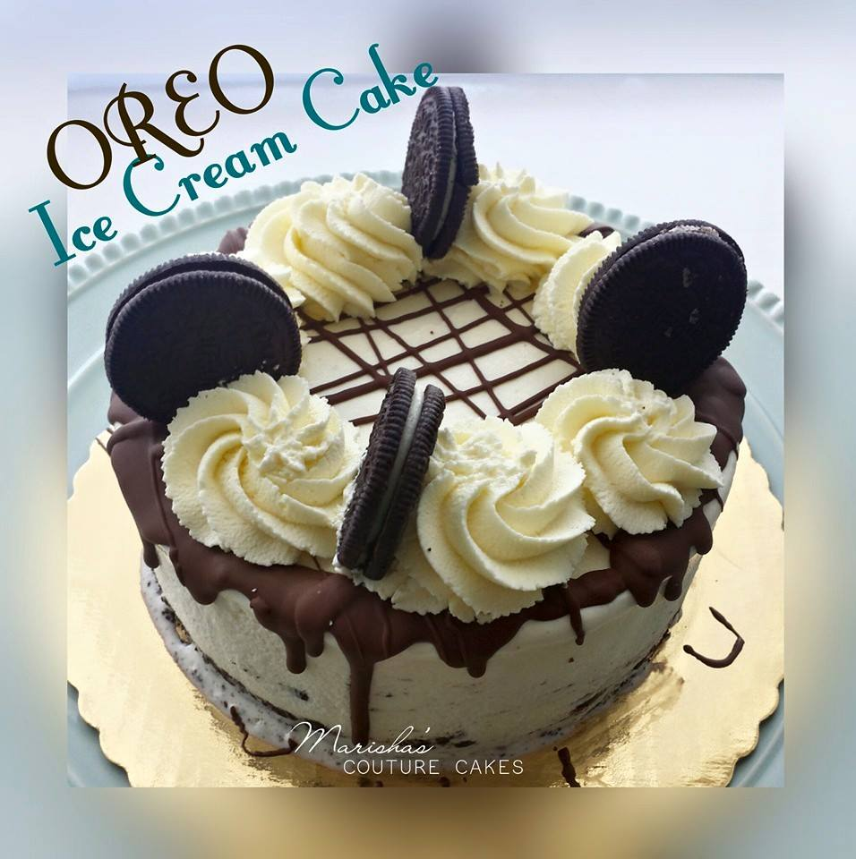 Oreo Ice Cream Cake Step By Step