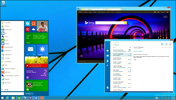 Windows 8.1 Update 1 Start Menu