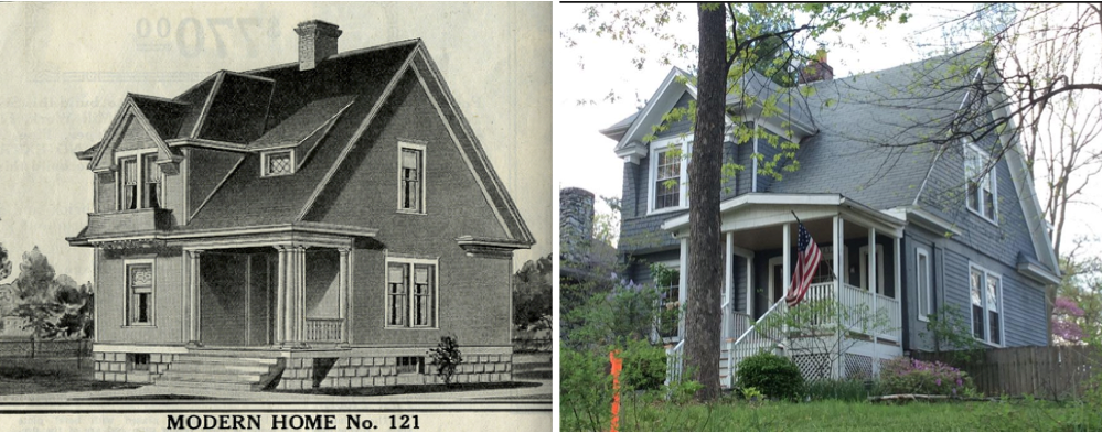 Sears house seeker sears altona or not in webster groves mo theres no denying the similarity look at those huge cornice returns the layout of the side windows and there it is the enclosure of the original malvernweather Image collections