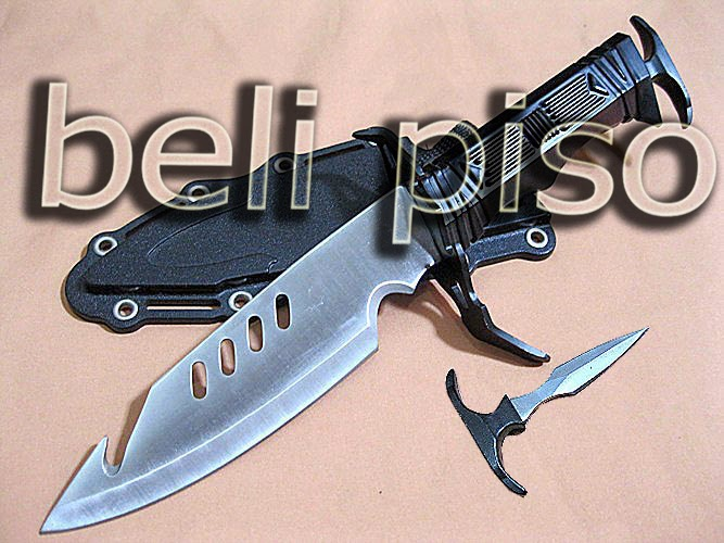 Jual BUD K Knife With Mini Push Dagger belipiso.com