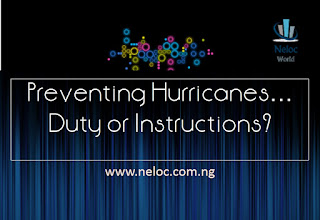 Preventing Hurricanes: Duty or Instructions?