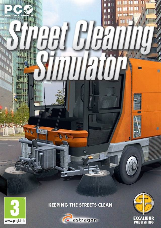 Street Cleaning Simulator Free PC Games Download