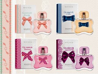 Pronto llegarán a España los perfumes Bourjois Glamour Collection
