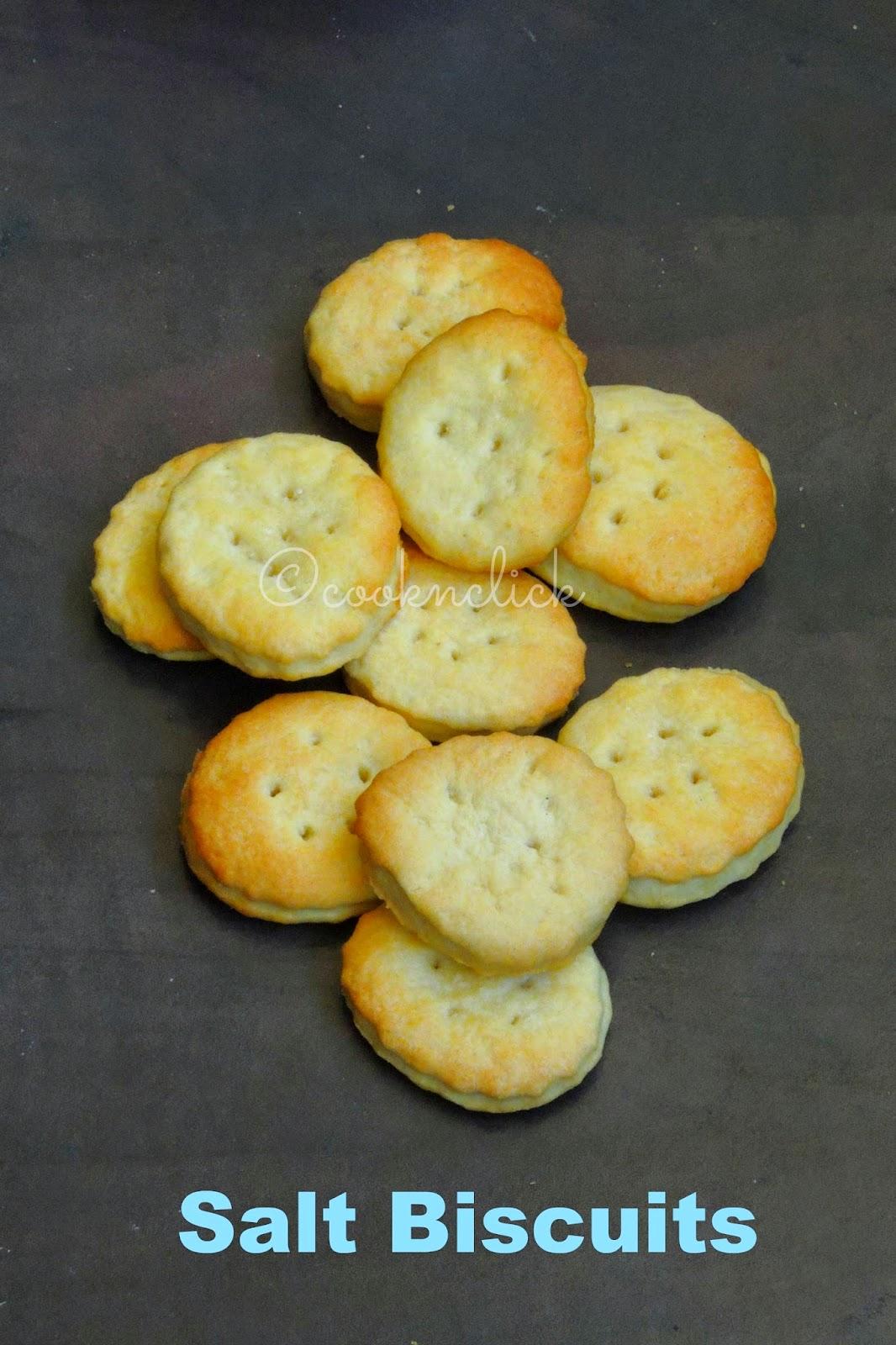 Salt biscuits, Sweet Salt biscuits