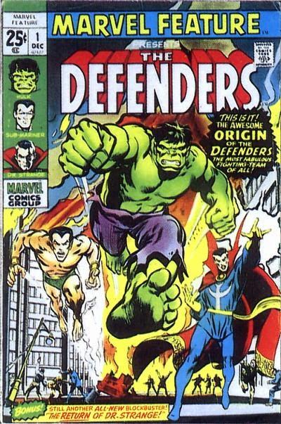 Portada de Marvel Feature Vol.1 #1