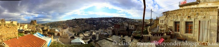 view from our cave house - Uchisar, Cappadocia