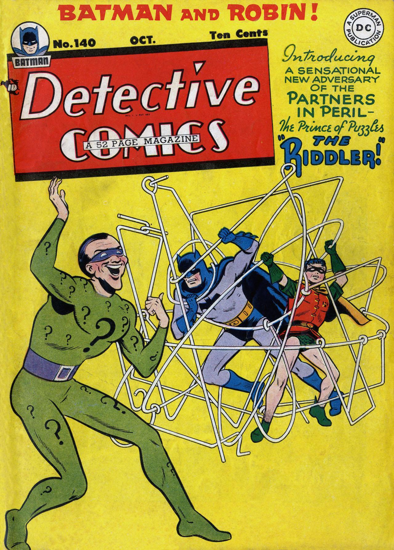 Detective Comics (1937) 140 Page 1
