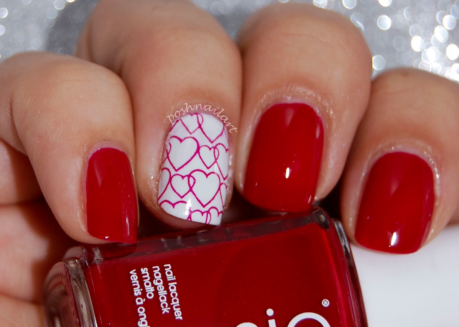 Posh Nail Art: Essie - Twin Sweater Set