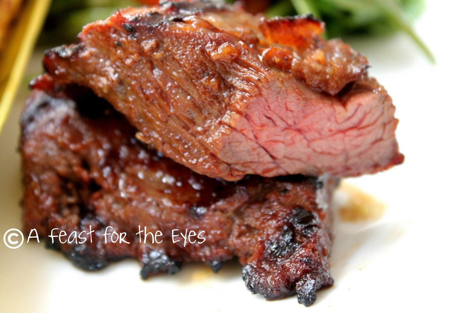 Feast for the Eyes: Grilled Steakhouse Steak Tips