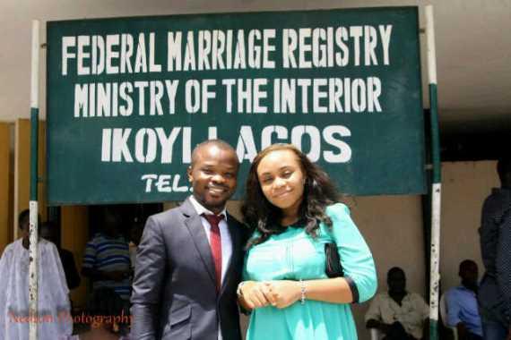 Nedu of Wazobia FM Weds