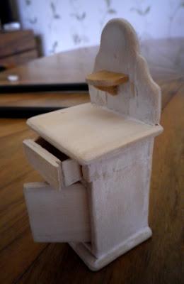colonnetta antico comodino