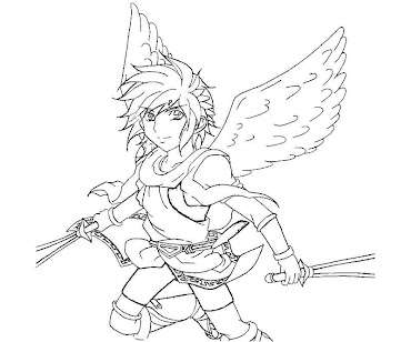 #11 Pit Coloring Page