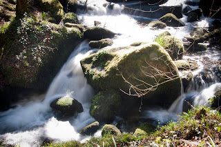 Waterfalls in Cornwall