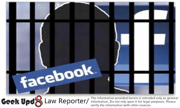 Third Friend Request to a Girl on Facebook can get you to Jail